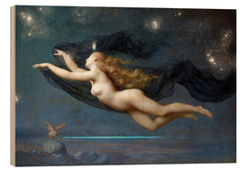 Trätavla  The Night - Auguste Raynaud