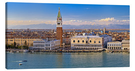 Canvastavla  Venice view to the Alps - FineArt Panorama