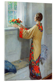 Akrylglastavla  New day - William Henry Margetson