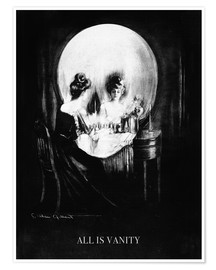 Premiumposter  All is Vanity - Charles Allan Gilbert