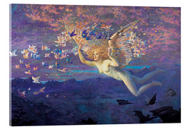 Akrylglastavla  Wings of the Morning - Edward Robert Hughes