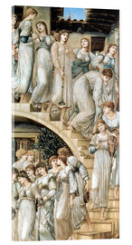 Akrylglastavla  The Golden Stairs - Edward Burne-Jones
