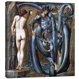 Canvastavla  The Doom Fulfilled - Edward Burne-Jones