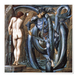 Premiumposter  The Doom Fulfilled - Edward Burne-Jones