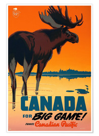 Premiumposter  Canada travel for big game - Travel Collection
