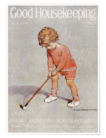 Premiumposter  golf art jessie - Jessie Willcox Smith