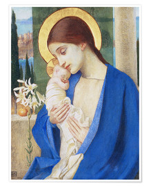 Premiumposter Madonna and child