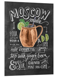 PVC-tavla  Moscow Mule - Lily & Val