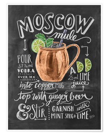 Poster Moscow Mule