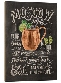 Trätavla  Moscow Mule - Lily & Val