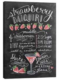 Canvastavla  Strawberry Daiquiri recept - Lily & Val