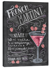Canvastavla  French Martini recept - Lily & Val