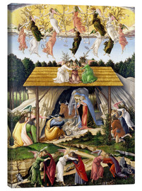 Canvastavla  Mystical Birth - Sandro Botticelli