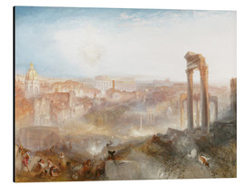 Aluminiumtavla  Modern Rome - Joseph Mallord William Turner