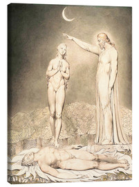 Canvastavla  the creation of eve - William Blake