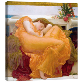 Canvastavla  Flaming June - Frederic Leighton