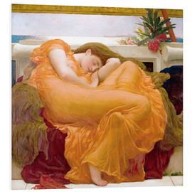 PVC-tavla  Flaming June - Frederic Leighton
