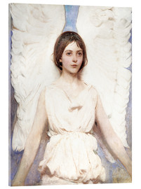 Akrylglastavla  Angel - Abbott Thayer