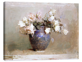 Canvastavla  Roses - Abbott Thayer