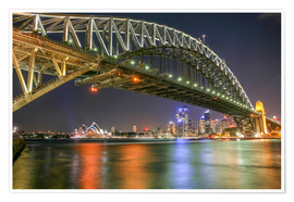 Premiumposter Sydney Harbour Bridge I