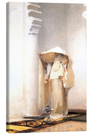Canvastavla  The smoke of amber - John Singer Sargent