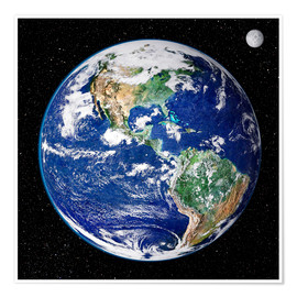 Poster  Earth from space - Nasa