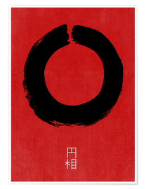 Premiumposter  Enso in Japan - THE USUAL DESIGNERS