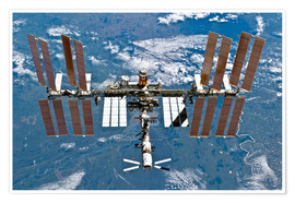 Premiumposter International space station