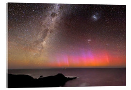 Akrylglastavla  Aurora australis and Milky Way - Alex Cherney