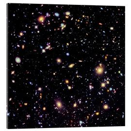 Akrylglastavla  Hubble Extreme Deep Field - NASA