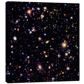 Canvastavla  Hubble Extreme Deep Field - NASA