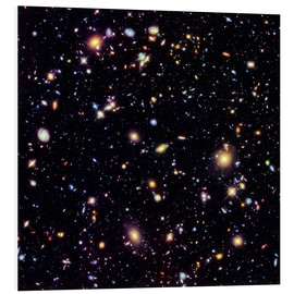 PVC-tavla  Hubble Extreme Deep Field - NASA