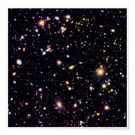Premiumposter  Hubble Extreme Deep Field - NASA