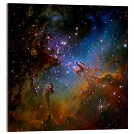 Akrylglastavla  Eagle Nebula, optical image - Robert Gendler