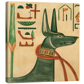 Canvastavla  The Tomb of Siptah, Anubis - Ernest Harold Jones