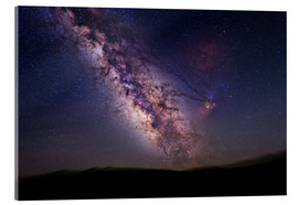 Akrylglastavla  Milky Way over California, USA - Tony & Daphne Hallas