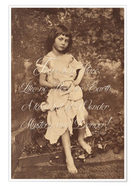 Premiumposter  Alice Liddell (Alice in Wonderland)
