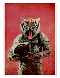 Premiumposter  Space tiger - Durro Art