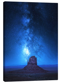 Canvastavla  Monument Milkyway - Juan de Pablo