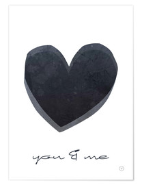 Premiumposter  You & me - m.belle