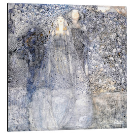 Aluminiumtavla  Silver Apples - Margaret MacDonald Mackintosh