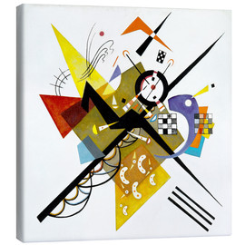 Canvastavla  On White II - Wassily Kandinsky