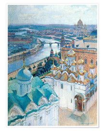 Premiumposter  View of Moscow - Nikolaj Grizenko
