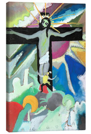 Canvastavla  crucified Christ - Wassily Kandinsky