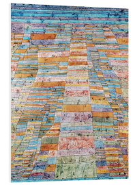 PVC-tavla  Main path and Byways - Paul Klee