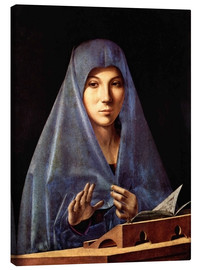 Canvastavla  Virgin Annunciate - Antonello da Messina