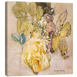 Canvastavla  Winter Rose - Charles Rennie Mackintosh