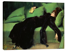 Canvastavla  After the ball - Ramon Casas i Carbo