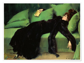 Premiumposter  After the ball - Ramon Casas i Carbo