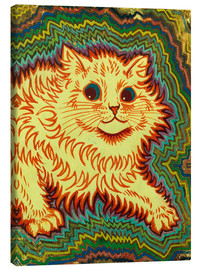 Canvastavla  Electric Cat - Louis Wain